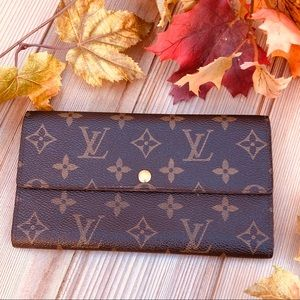 🍁 Louis Vuitton Portefeuille Sarah Long Wallet